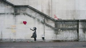 Dziewczynka z balonikiem, Banksy