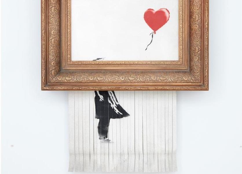 Dziewczynka z balonikiem jest teraz #LoveIsInTheBin