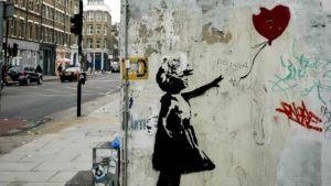 Dziewczynka z balonikiem - Banksy