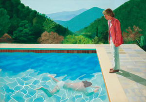 David Hockney 'Portrait of an Artist (Pool with Two Figures)