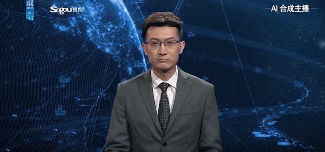 Wirtualny prezenter Xinhua