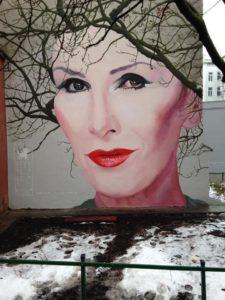 Mural z Korą, Warszawa