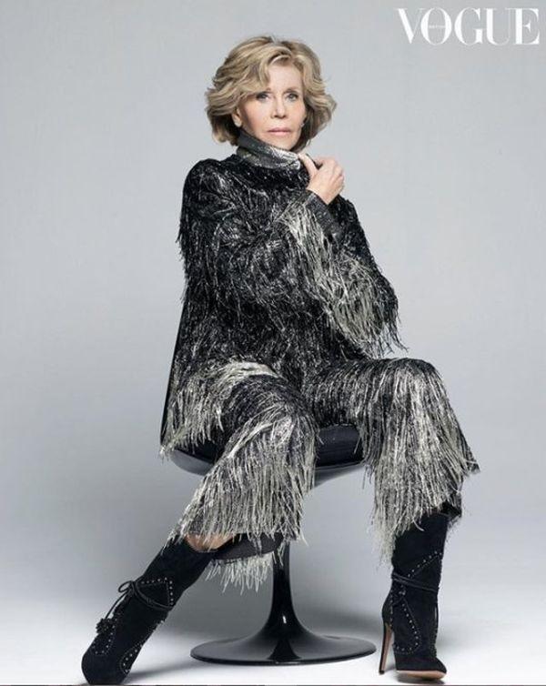 Sesja zdjęciowa Jane Fondy, Vogue brytyjski
