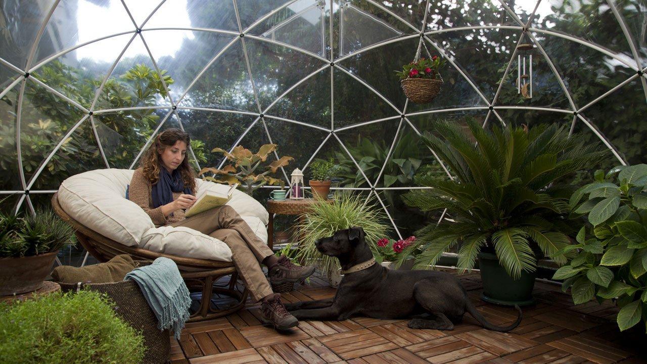 ogrodowe igloo