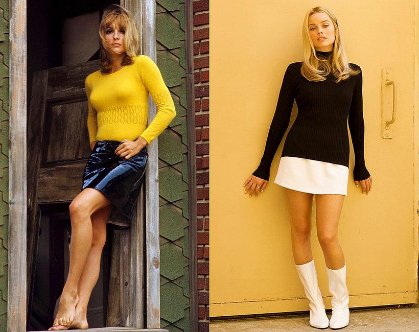 Sharon Tate i Margot Robbie